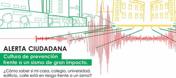 Cultura de prevención frente a un sismo de gran impacto