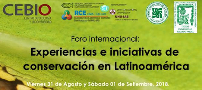 Experiencias e iniciativas de conservación en Latinoamerica